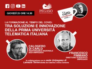 La formazione al tempo del COVID: tra soluzioni e innovazione della prima Università Telematica italiana