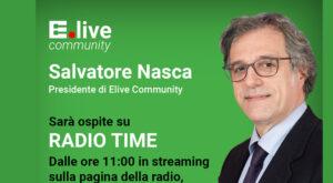 Salvatore Nasca ospite di Radio Time