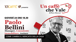 Paolo Bellini è l'ospite della puntata #uncaffechevale del 24 Settembre
