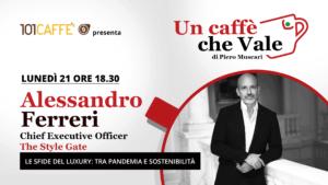Un caffè che vale con Alessandro Ferreri -live il 21 Settembre