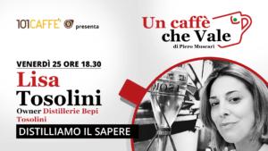Lisa Tosolini- Un Caffè che Vale | Live del 25 Settembre