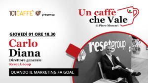 Carlo Diana- un caffè che vale - live 1 Ottobre