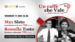 Un caffè che vale con Max Sisto e Rossella Tosto