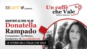 Donatella Rampado, un caffè che vale del 22 Settembre