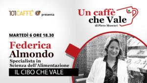 Federica Almondo è l'ospite della puntata un caffe che vale di martedì 06 ottobre