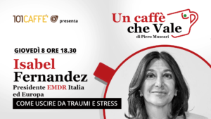 Isabel Fernandez è l'ospite della puntata #uncaffechevale di giovedì 08 ottobre