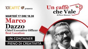 Un caffè che vale con Marco Dazzo - puntata del 17 Novembre