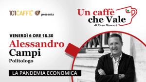 Alessandro Campi è l'ospite della puntata #uncaffechevale di venerdì 06 novembre