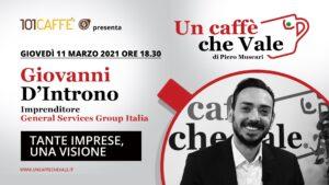 Un Caffè che Vale con Giovanni D'Introno