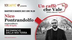 Un Caffè che Vale con Nico Pontrandolfo
